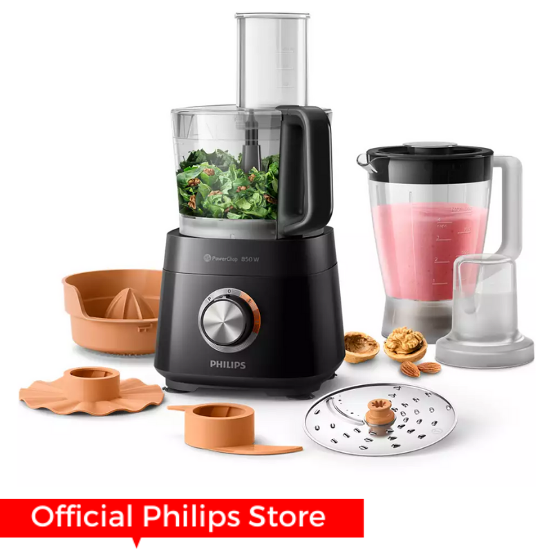 Philips Compact Food Processor Viva Collection-HR7520/11